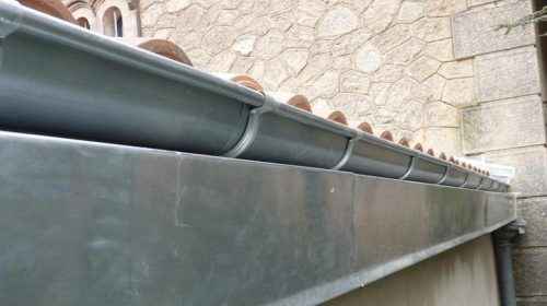 gouttiere zinc
